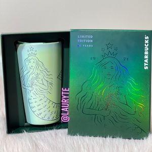 Starbucks Limited Edition Pearl Siren Travel Mug